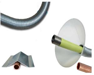 Beschermingsprofiel flexibele gasleiding
