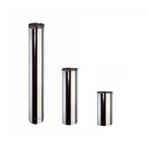 Inox Buis Enkelwandig 0.5 m - Diameter 80mm_