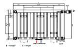 Radson E.FLOW Integra T21 H600 L1650 (2226 Watt)_