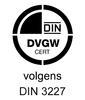 HSE Wasmachinekraan Met Keerklep Kort Model / gekeurd_