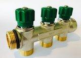 """Begetube Collector 3/4"""" Met 3 Ingebouwde Kraantjes M24 (Groen) - 225071003_"""