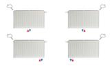 VKM8 UNI T33 H700 L500 (1362 Watt)  8-aansluitpunten_