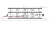 VKM8 UNI T33 H700 L1000 (2724 Watt)  8-aansluitpunten_