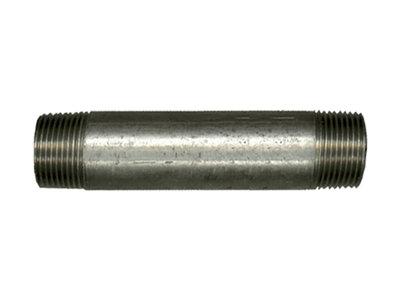"""Galva buisnippel 1/2"""" MM  x 250 mm"""