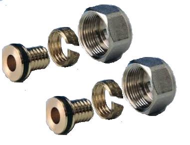 Begetube Klemkoppeling Euroconus x 20/2.8 mm VPE (2 stuks)  500600438