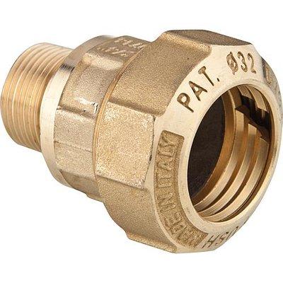"""DECA Klemkoppeling koppeling 3/4"""" M x 32 mm Voor HDPE-Buis"""