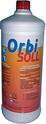 Orbi Soll 1 l professioneel Vloeibaar Ontstoppingsmiddel  Voor Afvoerleidingen