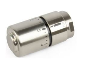 Begetube Thermostaatkop Optima Design M30 (inox)  180410000