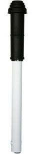 Vaillant Dakdoorvoer PP/ALU - 60/100 mm Condensatie - 0020220656