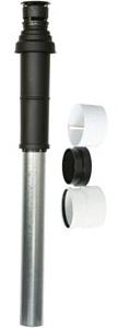 Vaillant Dakdoorvoer PP/ALU - 80/125 mm condensatie - 303200