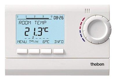 Theben RAM 832 top2 Digitale Ruimtethermostaat (230 V)