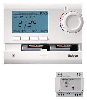 Theben RAM 813 top2  HF Digitale Ruimtethermostaat (Draadloos)