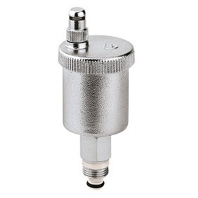 """Caleffi Minical 1/2""""M Automatische Ontluchter Hygroscopisch"""