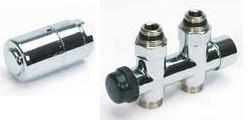 Begetube Ventielset Recht Optima Design (Vloeraansluiting 16/2) - 190710052+180410008+502570118