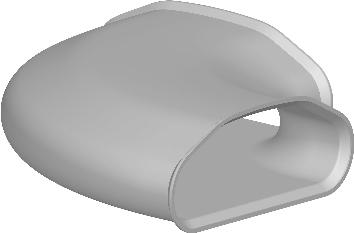 Begetube Profi-Air Kanaalbocht 90° Tunnelbuis