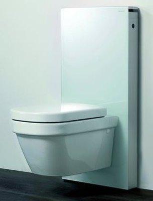 Geberit Monolith System Wit + Starck III Hang-WC & Softclose Zitting