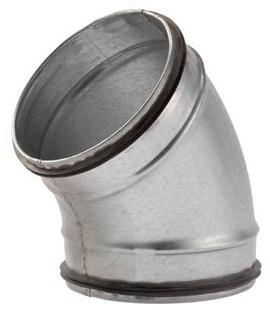 Vasco Spiralit Galva Bocht 45° / 150 mm