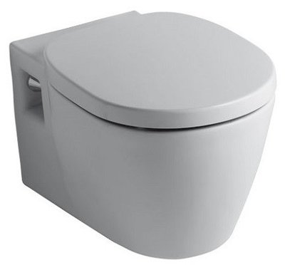 Ideal Standard Connect Rimless Hang-WC + Softclose Zitting