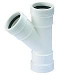Wafix PP T-Stuk FFF 32 mm / 45°