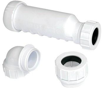 Wavin Horizontale Membraan Sifon Hepvo 32 mm Douche / Bad