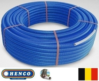 Henco Buis 26/3 mm (Rol 50 m Blauw)