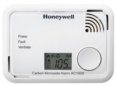Honeywell Koolmonoxide Melder Met Display XC100D - 725003012