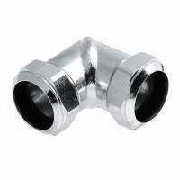 Verzinkte Knelkoppeling Knie 15 x 15 mm