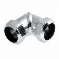 Verzinkte Knelkoppeling Knie 28 x 28 mm