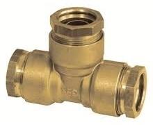 SR11/R Klemkoppeling T-Stuk 28,2/4,3 mm Voor LDPE-Buis (BSR)
