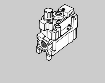 Honeywell Gasblok V4600C1086 (230V)