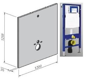 Rosco HT Bouwplaat Voor Systemfix/Duofix (Betegelbaar)