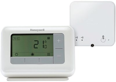 Honeywell T4R Digitale Klokthermostaat Weekprogramma Draadloos