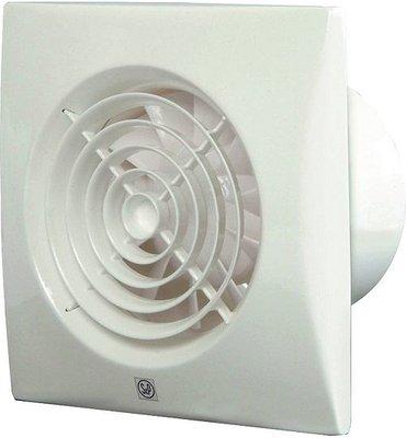 S&P Silent 100 CZ Badkamerventilator Wit 12V