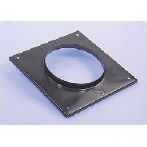 BH Afwerkplaat Voor Concentrische Muurdoorvoer 80/125 mm