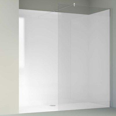 Acryl Wand Wit U-Groef 1800 x 2000 x 8