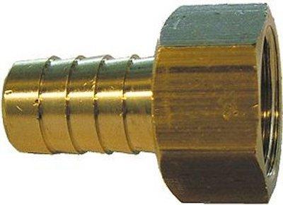 Slangnippel / Slangpilaar Messing 3/4F - 20mm