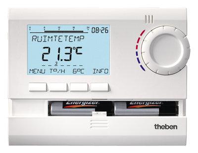 Theben RAM 831 Top 2 Digitale Ruimtethermostaat (2x1.5v batterij)