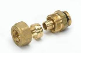 "Begetube Klemkoppeling VPE 3/4""M x 18/2 mm (Met O-ring)"
