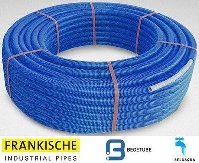Begetube Alpex DUO Buis 20/2 mm (Rol 25 m Blauw)