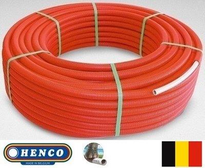 Henco RIXc Buis 16/2 mm (Rol 100 m Rood)