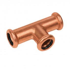Koper Perskoppeling Water Bonfix T-stuk  15 mm - 402005