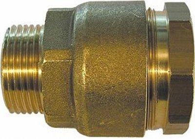"Klemkoppeling 3/4""M  Voor LDPE-Buis (BSN)"