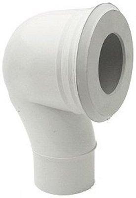 Nicoll WC Aansluitstuk Vertikaal 90mm