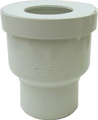 Nicoll WC Potstuk Recht 90mm