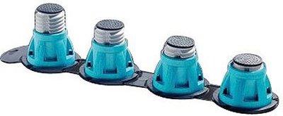 Douchepoten set van 4 Regelbaar van 85-135 mm