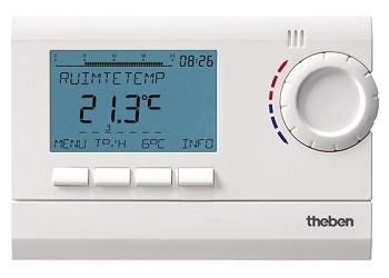 Theben RAM 812 top2 Digitale Ruimtethermostaat (230 V)