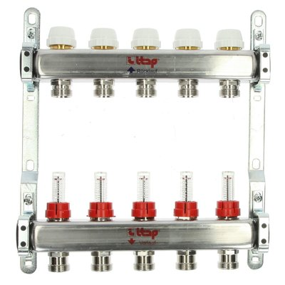 Itap 5-Groeps RVS Collector Met Debietmeters