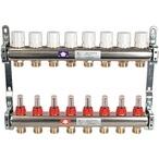 Itap 8-Groeps RVS Collector Met Debietmeters