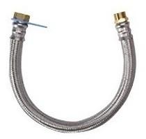 """VSO CV-flexibel 1/2""""MF - 70 cm met inox omvlechting"""