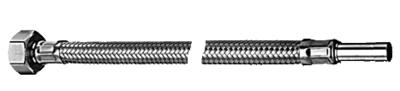 """Schell Inox Flexibel 1/2""""F x Pijp 10 mm - 60 cm"""